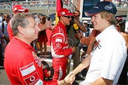 Jean Todt meets Sebastian Vettel
