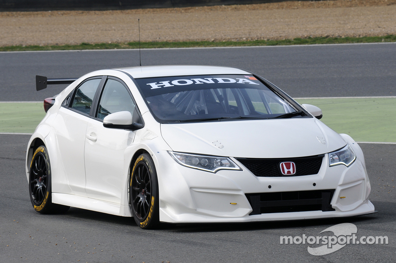 matt neal honda racing civic type r at brands hatch march. Black Bedroom Furniture Sets. Home Design Ideas