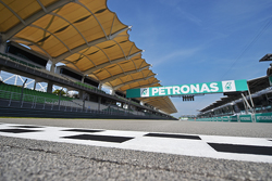Sepang circuit - start-finish straight