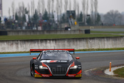#3 Belgian Audi Club Team WRT Audi R8 LMS Ultra: Stephane Richelmi, Stephane Ortelli
