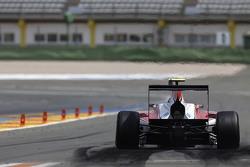Marvin Kirchhofer, ART Grand Prix does a practice start