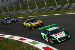 #24 Team Parker Racing Audi R8 LMS Ultra: John Loggie, Julian Westwood