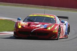 #81 AF Corse Ferrari F458 Italia: Stephen Wyatt, Michele Rugolo, Rui Aguas