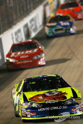Kyle Busch leads Dale Earnhardt Jr.