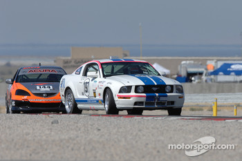 #197 Larry Miller Racing Mustang GT: Bill Murray, James Burke