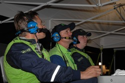 Krohn Racing team members just minutes before the checkered flag