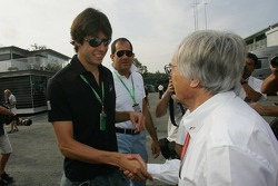 Bernie Ecclestone and Kaká