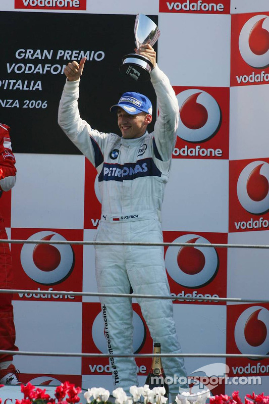 Podium: Robert Kubica
