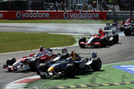 David Coulthard, Jarno Trulli and Christijan Albers