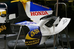 Honda Racing F1 Team RA106 engine cover