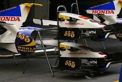 Honda Racing F1 Team RA106 parts