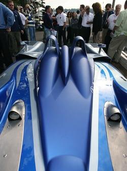 Fernandez Racing Lowe's Acura Lola LMP2 presentation: detail of the Acura Lola LMP2