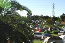 Japanese camp site