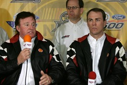 Richard Childress Racing Shell sponsorship press conference: Richard Childress and Kevin Harvick