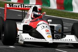 Gerhard Berger in the McLaren Honda
