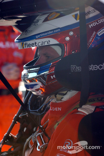 Garth Tander waits patiently