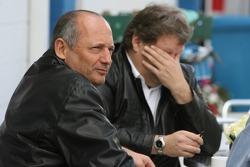 Ron Dennis and Norbert Haug
