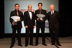 LMP2 champions: Sascha Maassen and Lucas Luhr