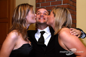 Darren Turner and the Aston Martin ladies