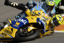 Valentino Rossi falls