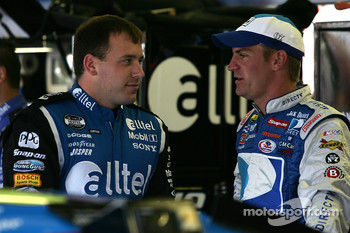 Ryan Newman and Clint Bowyer