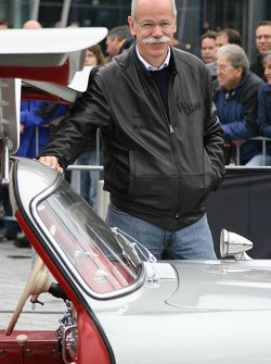 Dr. Dieter Zetsche at the Mercedes-Benz cars drive around the new Mercedes-Benz Museum at Stuttgart-Untertürkheim