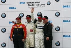 Thoroughbred GP race: podium