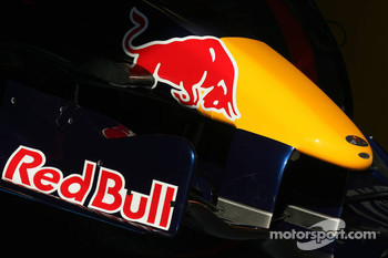 The Red Bull Racing nose cone
