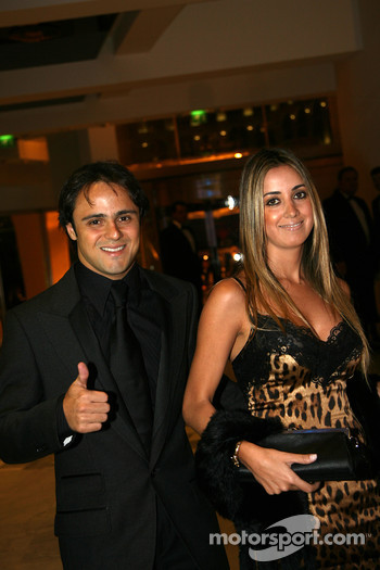 Felipe Massa, Scuderia Ferrari Formula One driver and wife