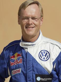 Volkswagen Motorsport presentation in Dubai: Ari Vatanen