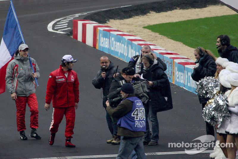 Sébastien Loeb and Sébastien Bourdais