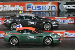 Quarter final: Marcus Gronholm and Mattias Ekström