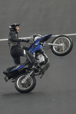 Stunt bike show