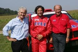 Team Dessoude test in Le Galicet: Hugues de Chaunac, Yvan Muller and André Dessoude