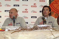 Orlen Team: Jacek Czachor and Marek Dabrowski
