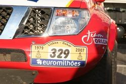 Detail of the Orlen Team Nissan