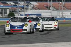 #74 Tafel Racing Porsche GT3 Cup: Eric Lux, Wolf Henzler, Dominik Farnbacher, Jim Tafel