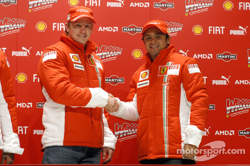 Press conference: Kimi Raikkonen and Felipe Massa