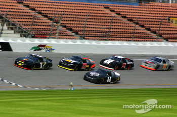 Martin Truex Jr., Dave Blaney, Jeff Green, Kasey Kahne and Sterling Marlin