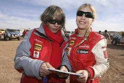 Teresa Cupertino and Madalena Antas