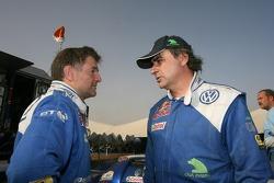 Michel Périn and Carlos Sainz
