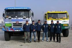 Tomas Tomecek Letka Racing Team: Tomas Tomecek, Vojtech Moravek, Lala Ladislav, Andre De Azevedo, Jaromir Martinec and Maykel Justo