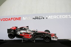 The new McLaren Mercedes MP4-22