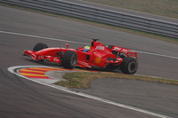 Феліпе Массса тестує нову Ferrari F2007