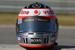 Helmet of Fernando Alonso