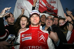 Sébastien Loeb with his fans