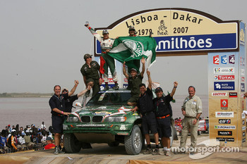 Car category podium: Paulo Nobre and Filipe Palmeiro