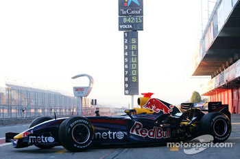 The Red Bull Racing RB3
