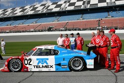 #02 Target Chip Gaanassi with Felix Sabates Lexus Riley: Scott Dixon, Dan Wheldon, Memo Rojas