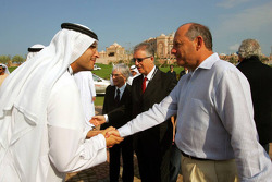 H. E. Khaldoon Al Muharak Abu Dhabi Executive Affairs Authority with Ron Dennis, McLaren, Team Principal, Chairman